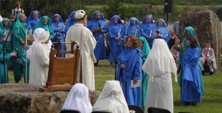 Seremoni'r Orsedd yn Eisteddfod Genedlaethol 2014