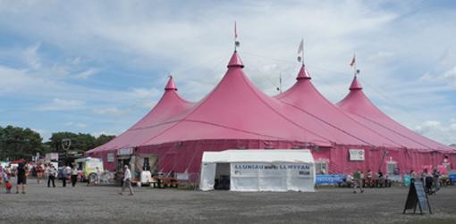 Pafiliwn yr Eisteddfod Genedlaethol, Llanelli 2014