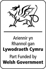 Welsh Government funding logo