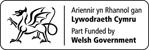 Ariennir yn rhannol gan Lywodraeth Cymru